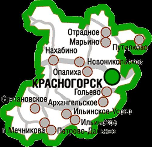 город красногорск московской области карта фото другие